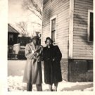 Vintage African American Photo Woman Man Couple People Old Black Americana