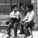 SHAVAR ROSS HAND-SIGNED DIFF'RENT STROKES TV GARY COLEMAN ORIGINAL PHOTO 1981