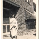 1940-50 Vintage Photo of A Pretty Young African-American Woman College Graduate