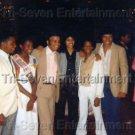 Vintage 1980 Hal Jackson Todd Bridges Stoney Jackson Photo African American US