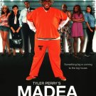 African American Collectible Movie BACKER CARD Tyler Perry MADEA GOES TO JAIL