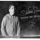"SHAVAR ROSS SIGNED FRIDAY THE 13TH PART 5 ""REGGIE SCREAMING"" B&W PHOTO ORIGINAL"