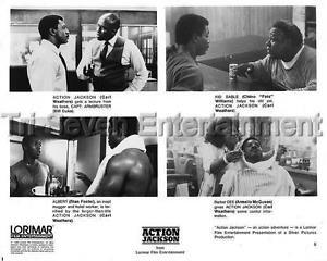 Carl Weathers Press Photo Snapshot Actor African-American Movie Celebrities 1988