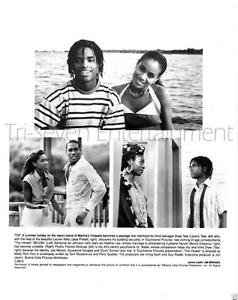 "JADA PINKETT SMITH & LARENZ TATE - ""THE INK WELL"" PHOTO AFRICAN-AMERICAN (1994)"