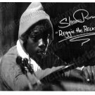 "SHAVAR ROSS SIGNED FRIDAY THE 13TH PART 5 ""REGGIE ON TRACTOR"" B&W PHOTO ORIGINAL"