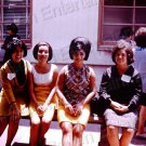 1965 Vintage Pretty Spanish Latina Women Students 8x10 Color Photo Original USA