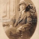 Antique African American Dapper Man Real Photo Postcard RPPC Black Americana 06