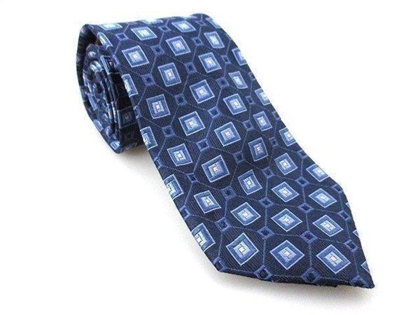 Men's New CLASS CLUB 100% Silk Tie Blue NWOT Necktie Ties BL0157