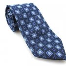 Men's New CLASS CLUB 100% Silk Tie Blue NWOT Necktie Ties BL0157