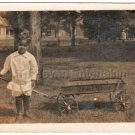 African American Mulatto Mexican Boy Interracial Antique Photo Black Americana