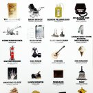 African American Inventions Poster Black History Famous People Inventors (18x24)