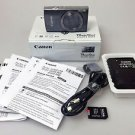 Canon PowerShot Digital ELPH 160 20.0 MP Digital Camera - Silver w/32GB MicroSD