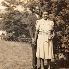 1940s Sophisticated African American Couple Photo Black Americana Pretty People