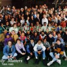 OFFICIAL FAMILY MATTERS FULL TV CAST & CREW PHOTO (1992-1993) JALEEL WHITE ABC