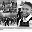 "Leleti Khumalo ""Sarafina"" Movie Press Photo African-American Celebrities (1992)"