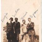 Antique African American Young People Photo Men Women Dress Suit Black Americana