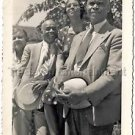 1940 Vintage Well-Dressed African-Americans Old Photo Black People Americana USA