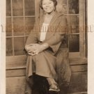 Antique African American Pretty Lady Real Photo Postcard RPPC Black Americana 07