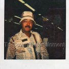 1970s African-American Man w/Hat & Glasses Photo Black People Color Polaroid US