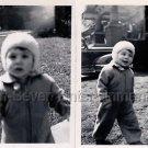 1940s Vintage Cute Boy w/Charisma Old Photo B&W Little Children American (Lot 2)