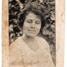 1930s Antique Beautiful African American Woman Old Photo Pretty Black Americana