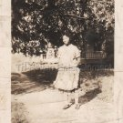 1930s African-American Woman Posing in Apron Old Antique Photo Black People USA
