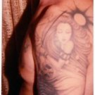 Vintage Tattoo Photo Woman Man Girl Skull Body Art Design Artist Tattooed Flash