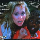 Melanie Kinnaman & Shavar Ross Signed Friday the 13th Part 5  Photo New Original