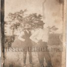 Antique African American Men Hand Hips Real Photo Postcard RPPC Black Americana