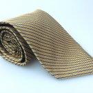 ROUNDTREE & YORK Men's New 100% Silk Tie Blue Stripes NWOT Necktie Ties B1007