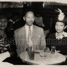 Vintage African American Pretty Women and Man Old 5x7 Photo Black Americana HS53