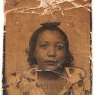 Vintage African American Gorgeous Woman Photo Booth Old Black Americana TPB26