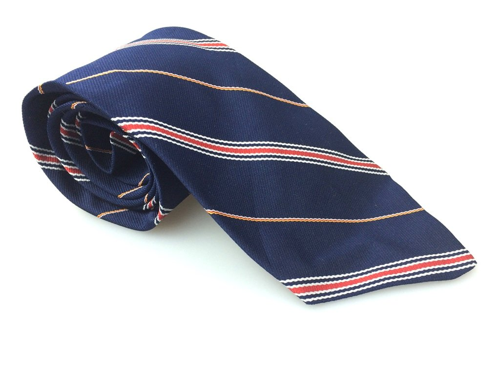 RATHBONE & COMPANY Men's New 100% Polyester Tie Stripes NWOT Necktie Ties B1008