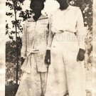 Antique African American Women Old Photo Vintage Woman Black Americana V02