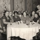 Vintage African American Couple w/ White Dinner Group Photo Black Americana HS08