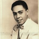 Vintage African American Handsome Father Baby Old Photo Black Americana V030