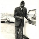 Vintage African American Handsome Military Man Old Photo Black Americana V027