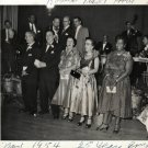 Vintage African American Woman Group Banquet Photo Old Black Americana SQ23