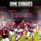 Football Poster Black Sports History Wall Art Print African American (18x24)