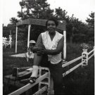 Vintage African American Woman Old Photo Black Americana SQ08