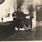Vintage African American Older Woman Living Room Photo Old Black Americana HS36
