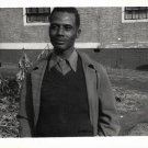 Vintage African American Handsome Older Man Old Photo Black Americana HS47