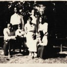 Antique African American Family Group People Children Old Black Americana HS32
