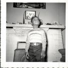 Vintage African American Boy Children Child Old Photo Black Americana SQ29
