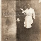 Antique African American Women Old Photo Vintage Woman Black Americana V04