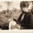 Antique African American Woman with Child Photo Mother Old Black Americana HS01