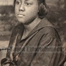 Antique African American Woman Photo Booth Vintage Old Black Americana TPB16