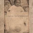 Antique African American Cabinet Card Baby Photo Children Black Americana TCC18
