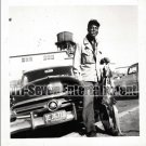 Vintage African American Men Man Fisherman Photo Old Black Americana SQ16