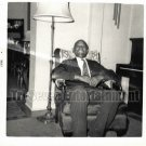 Vintage African American Men Man Happy Granpa Photo Old Black Americana SQ22